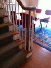 Stair Railing with Right Hand Voute