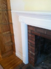 Full Fireplace Mantel and Surround