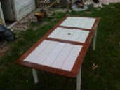 Mahogany Weather Resistant Deck Table